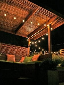 Gazebo Outdoor dari Furniture Bambu